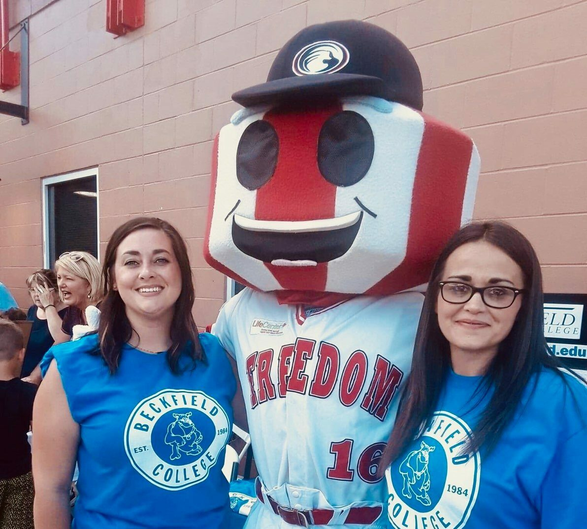 Florence Campus Life - Beckfield Students at Baseball Game - Beckfield College - Florence, KY