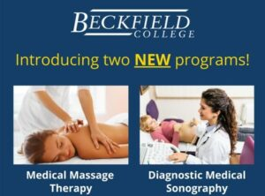 Beckfield College in the News with two new programs - Massage Therapy and Diagnostic Medical Sonography - Florence, KY